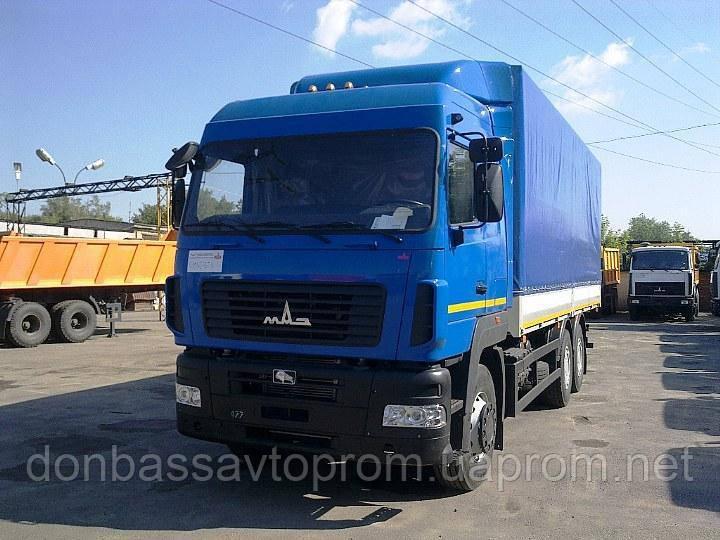 Грузовой тентованный автомобиль МАЗ-631228-520-010