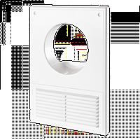 Решетка вентиляционная Домовент ДВ 100 К пластиковая решетка с антимоскитной сеткой для кухни Domovent Украина