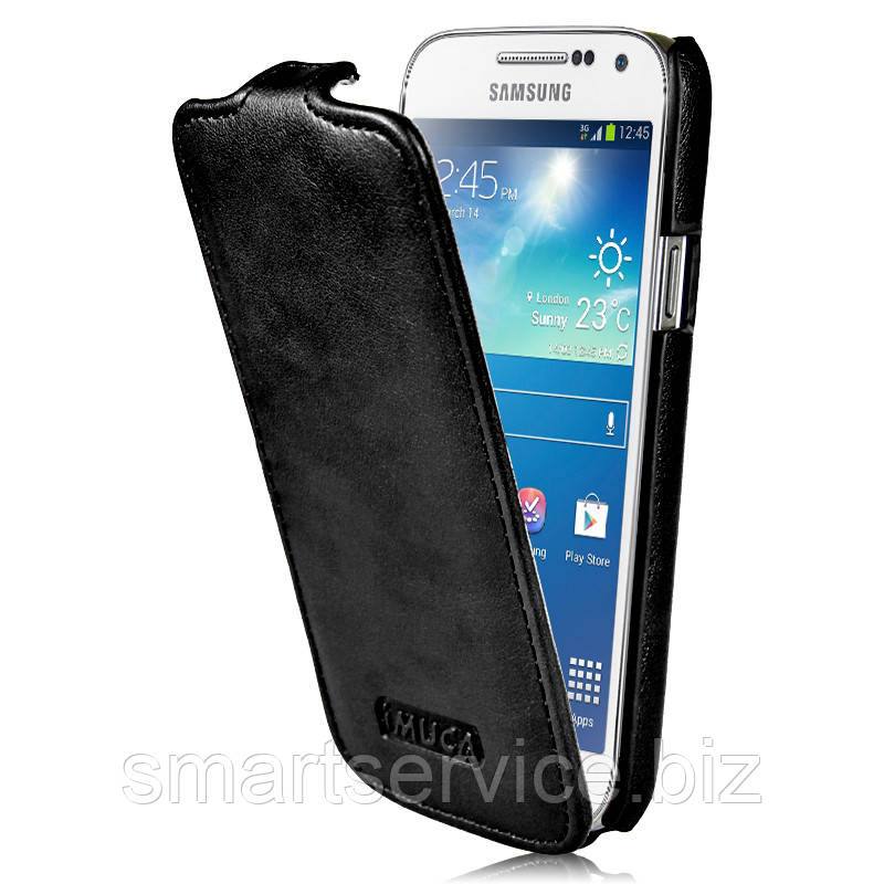 Кожаный чехол-флип iMuca Concise для Samsung Galaxy S4 mini
