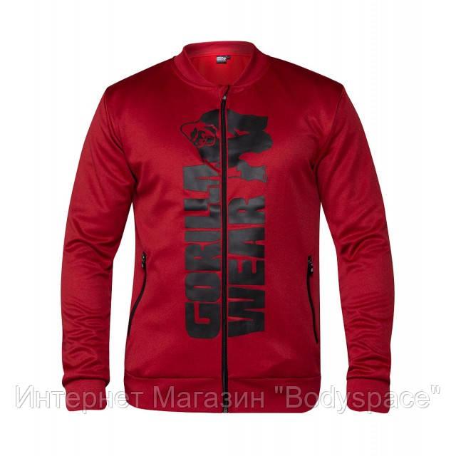 Gorilla Wear, Реглан спортивный Ballinger Track Jacket Red/Black