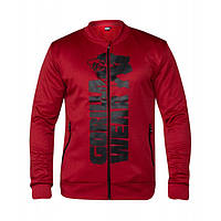 Gorilla Wear, Реглан спортивный Ballinger Track Jacket Red/Black, фото 1