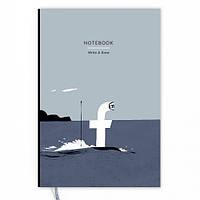 Блокнот Write&Draw Facebook, фото 1