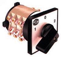 Кулачковый переключатель 6-полюсный (1-0-2) 6х250А