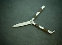 Складной нож-бабочка Тотем 1863,ножи от производителя,высококачественный нож, складные ножи,нож-бабочка