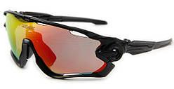 Спортивные солнцезащитные велоочки, 3 пары линз Queshark TR90, черный