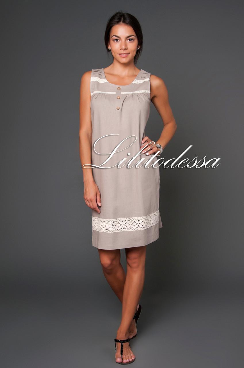 73058630546 Сарафан льняной - LILIT ODESSA оптово-розничный магазин женской одежды в  Одессе