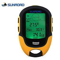 Метеостанция SUNROAD FR500 Многофункциональный цифровой барометр, компас.