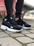 Трендовые Кроссовки Adidas Falcon черные Качество Премиум Стильные Адидас реплика 36 37 38 39 40 41 42р, фото 2