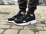 Трендовые Кроссовки Adidas Falcon черные Качество Премиум Стильные Адидас реплика 36 37 38 39 40 41 42р, фото 5