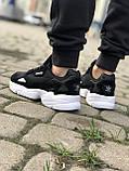 Трендовые Кроссовки Adidas Falcon черные Качество Премиум Стильные Адидас реплика 36 37 38 39 40 41 42р, фото 8