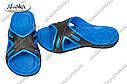 Шлепки мужские черно-синие (Код: С-32), фото 2