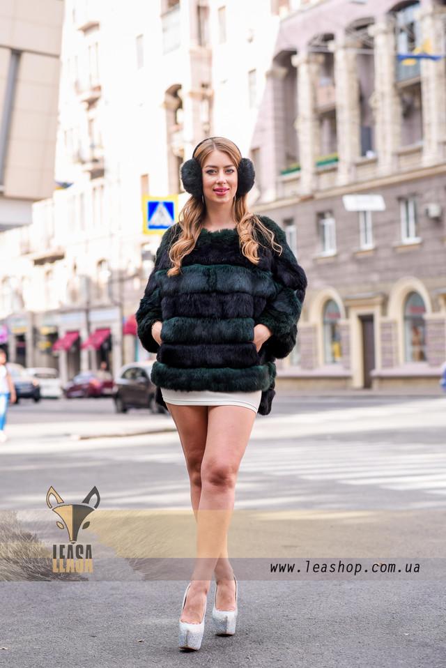 Полушубок - меховой свитер