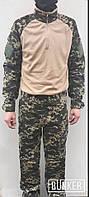 Комплект униформы в расцветке Пограничник убакс+брюки, фото 1