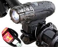 Велосипедный фонарь фара набор 2 в 1 Wizol