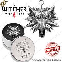 """Медальон Геральта - """"The Witcher"""" - в металлическом боксе!"""