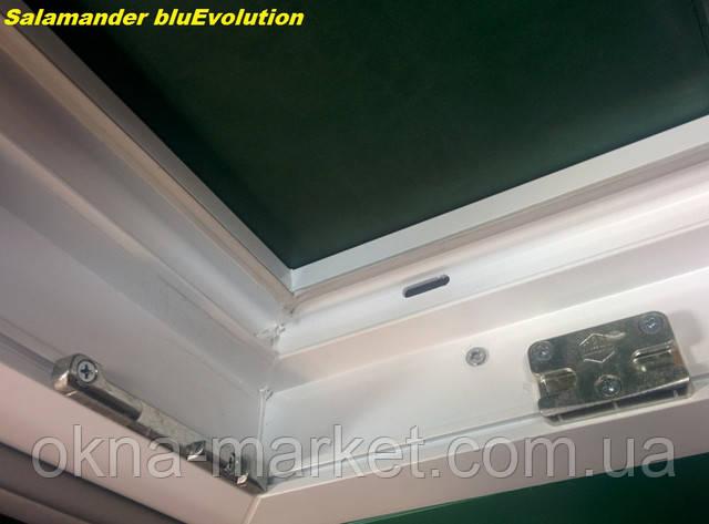 Окна Salamander bluEvolution Киев компания 4 этаж