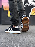 Стильні Чоловічі Кросівки Adidas Iniki чорні Якість Преміум Брендові Адідас репліка 43 44 45 46р, фото 2