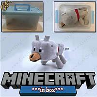 "Игрушка Волк из Minecraft - ""Wolf "" - в пластиковом боксе!"