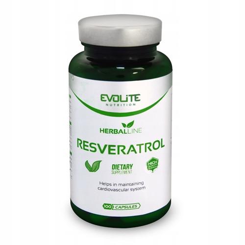Ресвератрол Evolite Nutrition Resveratrol 200mg  100caps