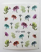 Наклейка для ногтей STZ-685