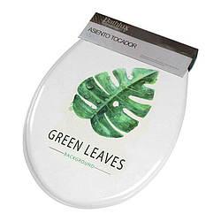 Сиденье для унитаза Bathlux Green Leaves 50515 R132610