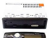Автомагнитола 3228D мульти подсветка съемная панель, фото 5