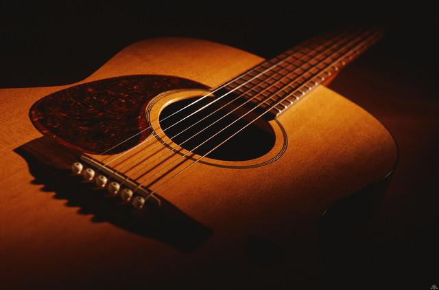 Акустическая гитара. Войдите в мир музыки.