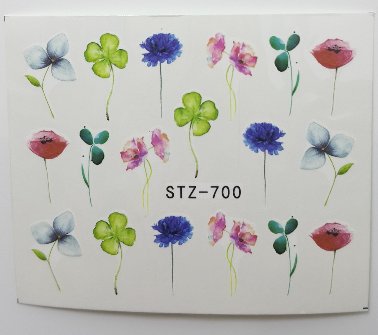Наклейка для нігтів STZ-700
