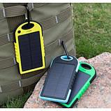 Power Bank solar power + фонарик 20 000 mAh, фото 7