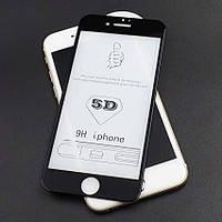 5D Скло для IPhone 7 /8 Захисне ударостійке black