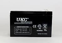 Аккумулятор BATTERY 12V 9A UKC, фото 1