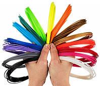 ПЛА PLA пластик нити для 3D ручки 10м Разные Цвета