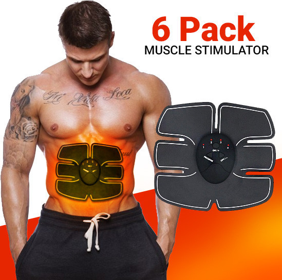 Миостимулятор body mobile gym 6 pack EMS для мышц пресса