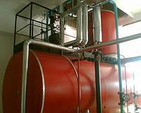 Деаэрация подпиточной воды для парового котла