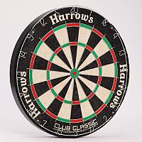 Мишень для игры в дартс из сизаля (d-45см) CLUB CLASSIC DARTBOARD JE06D