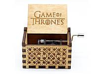 Музыкальная шкатулка в стиле ретро Game of Thrones №04