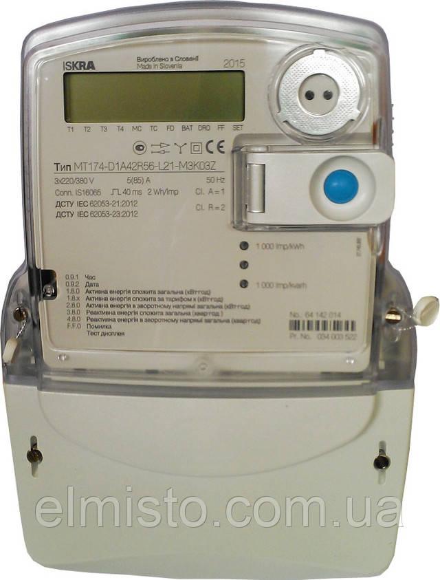 Многотарифные электросчетчики Iskra MT174-D1  ― для ценителей РЕАЛЬНО хороших счетчиков.
