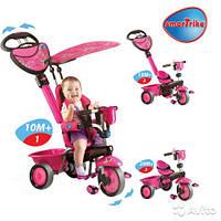 Детский велосипед 4 в 1 Smart Trike  ZOO Butterfly