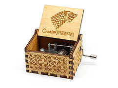 Деревянная музыкальная шкатулка Game of Thrones №06