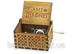 Деревянная музыкальная шкатулка Game of Thrones №04
