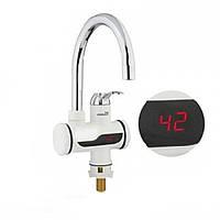Электрический проточный водонагреватель с электронным табло №2 D1031