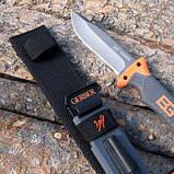 Нож для выживания, туристический Gerber Bear Grylls Ultimate Pro Fixed Blade Replica, фото 6