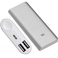 Power Bank Xiaomi портативная зарядка 16000mah + USB LED фонарик в подарок D1031