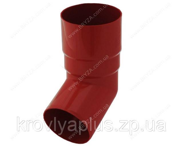 Водосточная сисиема BRYZA 125 Колено трубы 67 град. красный