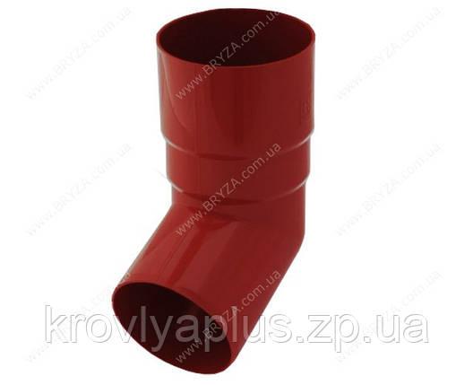 Водосточная сисиема BRYZA 125 Колено трубы 67 град. красный, фото 2