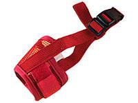 Мягкий намордник для собак Faroot Размер XL Красный