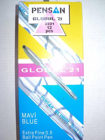 "Шариковая ручка ""Pensan"" Global 0,5 мм (12 шт/упаковка)"