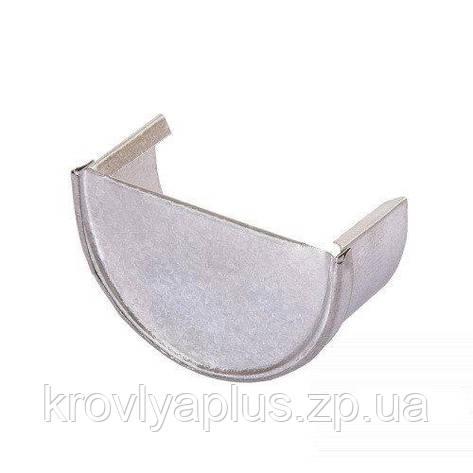 Водосток из оцинковки - Заглушка желоба, фото 2