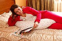 Подушка для беременных удобно маме и малышу 0333