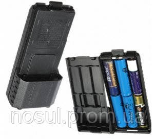 Baofeng UV-5R блок под установку аккумуляторных батарей усиленный Бокс ААA вместо аккумулятора